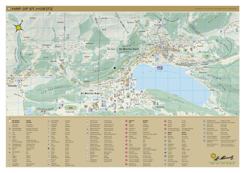 9bb2a847d Mapa mesta St Moritz - Lyžovačky v Alpách, www.hitka.sk